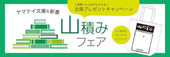 ヤマケイ文庫&新書山積みフェア2016-17