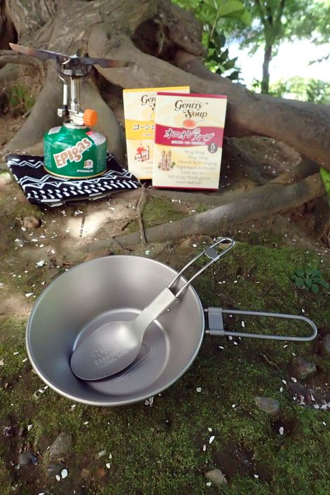 写真はイメージです。バーナーとスープはつきませんので悪しからず。。。